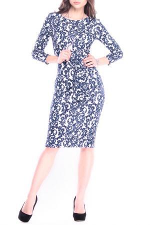 Платье Laura Bettini. Цвет: принт