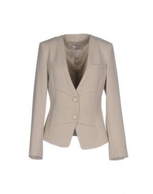 Пиджак FAIRLY. Цвет: светло-серый