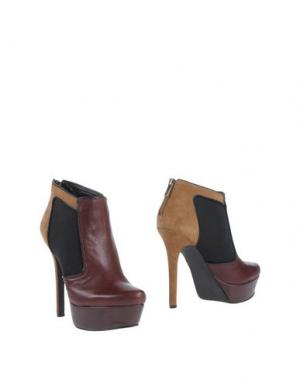 Полусапоги и высокие ботинки JESSICA SIMPSON. Цвет: баклажанный