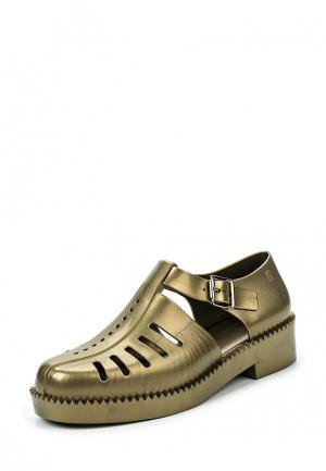 Туфли Melissa. Цвет: хаки