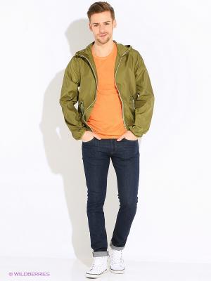 Куртка United Colors of Benetton. Цвет: горчичный