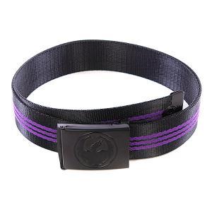 Ремень  Corp Web Jet Purple Dragon. Цвет: черный,фиолетовый