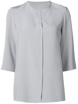 Свободная блузка Peter Cohen. Цвет: серый