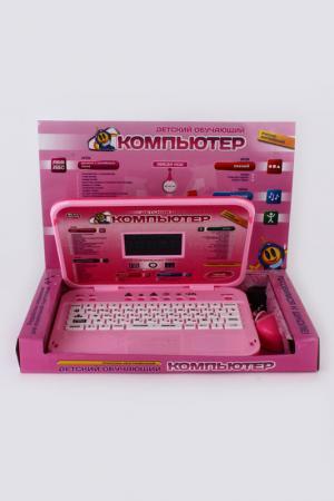 Компьютер эл., рус-англ., 60 ф Shantou Gepai. Цвет: розовый