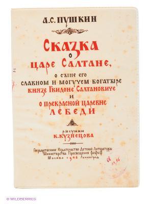 Обложка для паспорта Mitya Veselkov. Цвет: кремовый