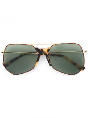 Солнцезащитные очки Goste Grey Ant. Цвет: металлический
