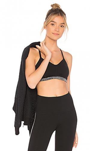 Спортивный бюстгальтер fit and trim Beyond Yoga. Цвет: черный