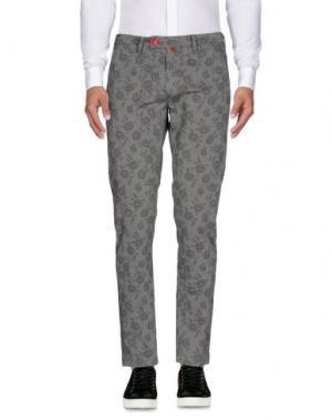 Повседневные брюки BARONIO. Цвет: серый