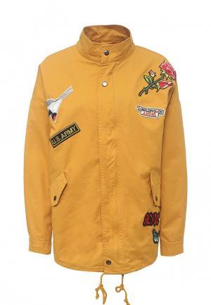 Куртка Dorado. Цвет: желтый