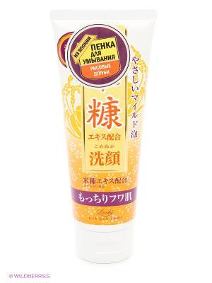 Пенка для умывания с рисовыми отрубями Roland. Цвет: желтый