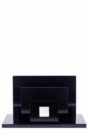 Подставка для писем Perles Lalique. Цвет: бесцветный