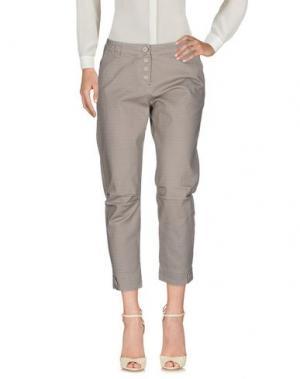 Повседневные брюки DANIELA DALLA VALLE ELISA CAVALETTI. Цвет: серый