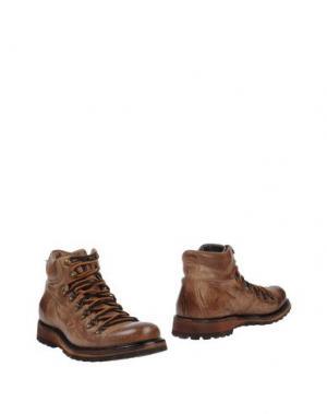 Полусапоги и высокие ботинки CORVARI. Цвет: верблюжий