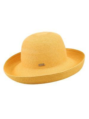 Шляпа Betmar. Цвет: желтый