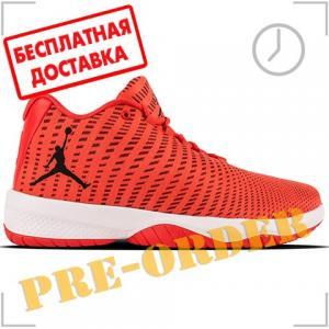 Кроссовки Jordan. Цвет: оранжевый