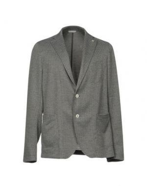 Пиджак MANUEL RITZ. Цвет: серый