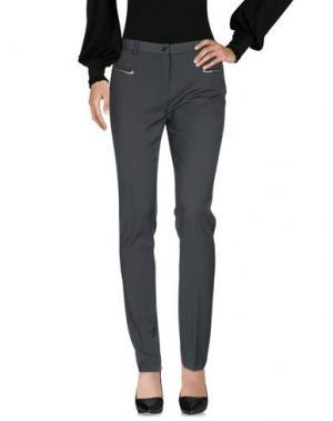 Повседневные брюки L.P. di L. PUCCI. Цвет: темно-зеленый