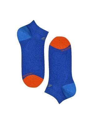 Носки мужские JOHN FRANK. Цвет: синий, оранжевый