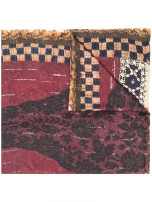 Шарф с вышивкой Pierre-Louis Mascia. Цвет: многоцветный