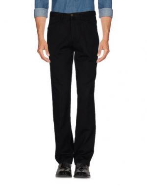 Повседневные брюки MARLBORO CLASSICS. Цвет: черный