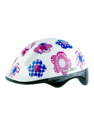 Роликовый шлем BABYSUMMER MAXCITY. Цвет: белый