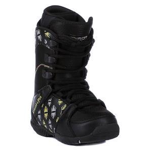 Ботинки для сноуборда детские  Thirteen Boys Black Limited4You. Цвет: черный