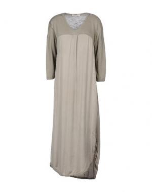 Платье до колена BLEIFREI. Цвет: серый