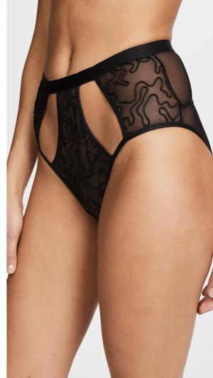 Amelie High Waisted Bikini Briefs Cosabella