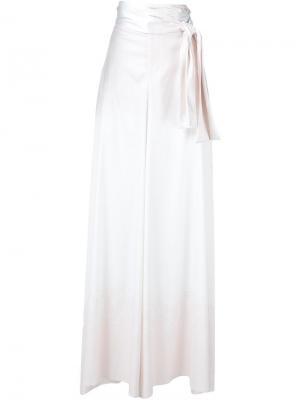 Брюки-юбка Baja East. Цвет: белый