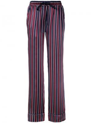 Пижамные брюки Louis Willa&Mae. Цвет: красный