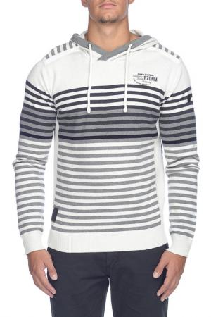 Пуловер Point Zero. Цвет: белый