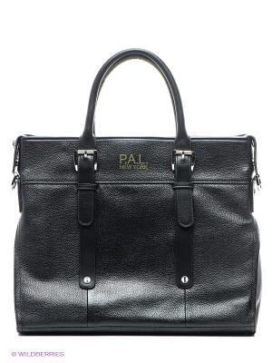 Cумка P.A.L New York. Цвет: черный