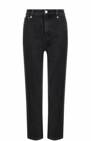 Укороченные джинсы прямого кроя 3.1 Phillip Lim. Цвет: черный