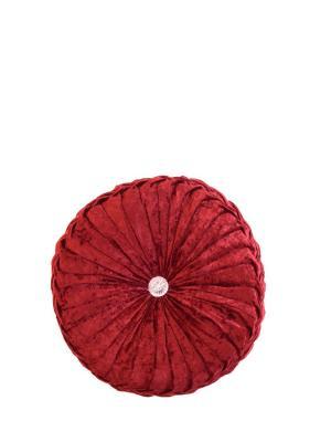 Декоративная подушка La Pastel. Цвет: бордовый