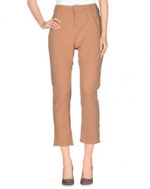 Повседневные брюки CHARAPA. Цвет: абрикосовый