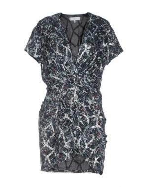 Короткое платье IRO. Цвет: темно-зеленый