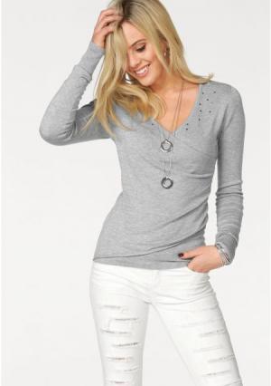 Пуловер MELROSE. Цвет: вишневый