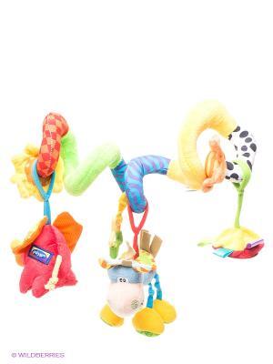 Мягкая игрушка-подвеска Playgro. Цвет: синий, красный, желтый