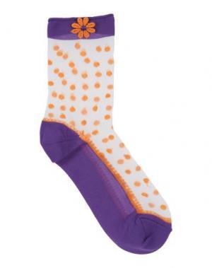 Короткие носки PIERRE MANTOUX. Цвет: фиолетовый