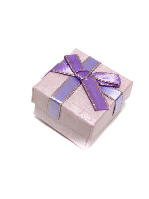 Подарочная коробка для ювелирных украшений Eleon. Цвет: сиреневый