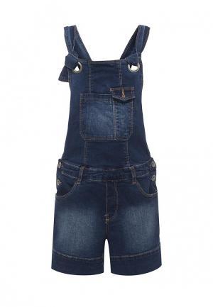 Комбинезон джинсовый Catimini. Цвет: синий