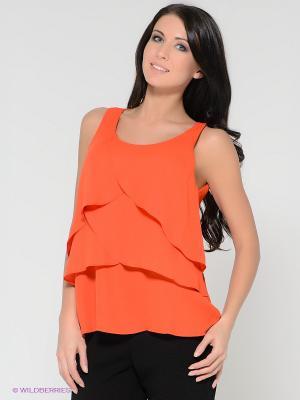 Кофточка Vero moda. Цвет: оранжевый