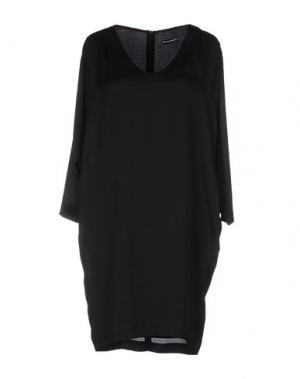 Платье до колена NEW YORK INDUSTRIE. Цвет: черный