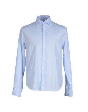 Pубашка 9.2 BY CARLO CHIONNA. Цвет: небесно-голубой
