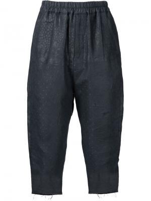 Укороченные брюки By Walid. Цвет: чёрный