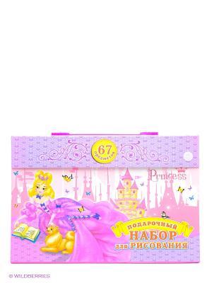 Набор для рисования Сказочная принцесса Канц-Эксмо. Цвет: розовый