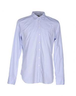 Pубашка U-NI-TY. Цвет: небесно-голубой