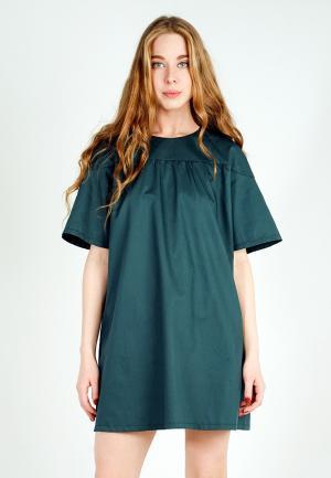 Платье BURLO. Цвет: зеленый