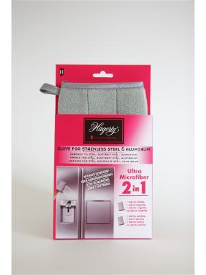 Перчатка из микрофибры для нержавеющей стали Microfiber gloves Stainless Steel, 22 х 14 см Hagerty. Цвет: лиловый