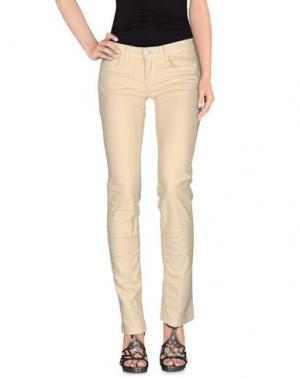 Джинсовые брюки PEUTEREY. Цвет: песочный